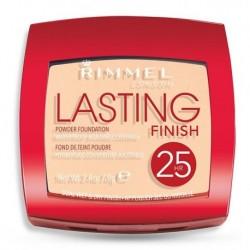 Rimmel Lasting Finish 25HR Powder Foundation Puder kryjąco-matujący 002 Soft Beige 7g