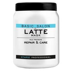 Stapiz Basic Salon Latte Mask Maska do włosów z proteinami mlecznymi 1000ml
