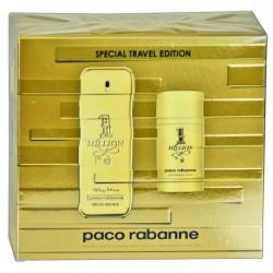 Paco Rabanne 1 Million Woda toaletowa 100ml spray + Dezodorant 75ml sztyft