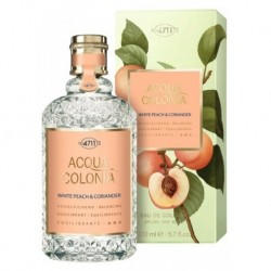 4711 Acqua Colonia White Peach & Coriander Woda kolońska 170ml splash and spray