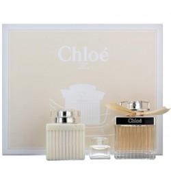 Chloe Fleur De Parfum Woda perfumowana 75ml spray + Balsam do ciała 100ml + Woda perfumowana 5ml