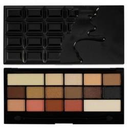 Makeup Revolution Chocolate Vice Paleta 16 cieni 22g