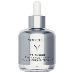 Yonelle Trifusion Eye-Face-Chin Liquid Cream Tensor Napinający płynny krem do twarzy 50ml