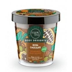 Organic Shop Body Desserts Royal Chocolate Nourishing Body Souffle Odżywczy mus do ciała o zapachu czekolady 450ml