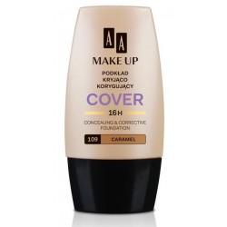 AA Make Up Cover Foundation Podkład kryjąco - korygujący 109 Carmel 30ml