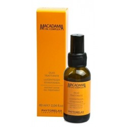 Phytorelax Macadamia Oil Instant Shine Oil Treatment Odżywczy olej makadamia do włosów 60ml