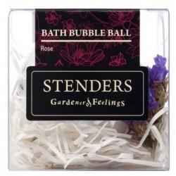 Stenders Bath Bubble Ball Musująca kula do kąpieli Rose 115g