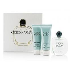 Giorgio Armani Acqua di Gioia Woda perfumowana 50ml spray + Balsam do ciała 75ml + Żel pod prysznic 75ml