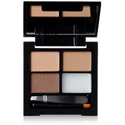 Makeup Revolution Focus & Fix Eyebrow Shaping Kit Zestaw do makijażu i regulacji brwi Light Medium 4g