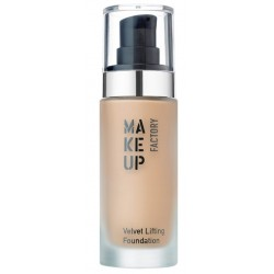 Make Up Factory Velvet Lifting Foundation Jedwabisty podkład liftingujący 20 Honey Beige 30ml