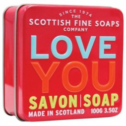 The Scottish Fine Soaps Love You Soap In A Tin Mydło w puszce 100g