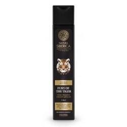 Siberica Professional Men Fury Of The Tiger Energy Shampoo Energetyzujący szampon do ciała i włosów 250ml