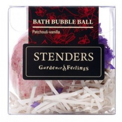 Stenders Bath Bubble Ball Musująca kula do kąpieli Patchouli Vanilla 115g