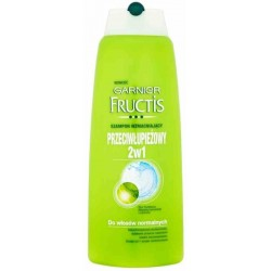 Garnier Fructis Green 2w1 Przeciwłupieżowy szampon do włosów 400ml