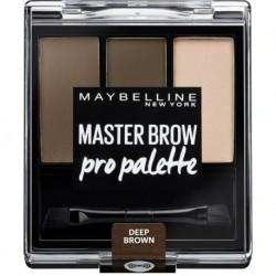 Maybelline Master Brow Pro Palette Paleta do brwi Deep Brown