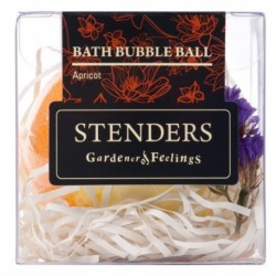Stenders Bath Bubble Ball Musująca kula do kąpieli Apricot Morela 115g