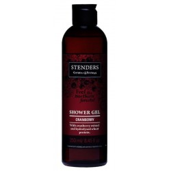 Stenders Żel pod prysznic Cranberry Żurawina 250ml
