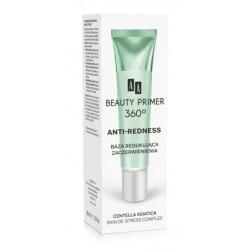 AA Beauty Primer 360 Anti-Redness Skin De-Stress Complex Baza redukująca zaczerwienienia 30ml