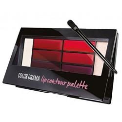 Maybelline Color Drama Lip Contour Palette Paleta do konturowania ust Crimson Vixen 4g