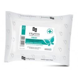 AA Intymna Fresh Soothing Intimate Hygiene Wipes Odświeżające chusteczki do higieny intymnej 20szt