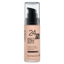 Catrice Made To Stay Make Up 24H Podkład matujący 010 Nude Beige 30ml