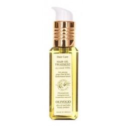 Olivolio Hair Oil Treatment Organiczny Olejek oliwkowy do każdego rodzaju włosów 90ml