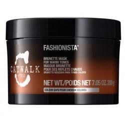 Tigi Catwalk Fashionista Brunette Mask Maska do włosów brązowych 200g