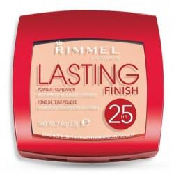 Rimmel Lasting Finish 25HR Powder Foundation Puder kryjąco-matujący 003 Silky Beige 7g