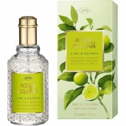 4711 Acqua Colonia Lime & Nutmeg Woda kolońska 50ml spray
