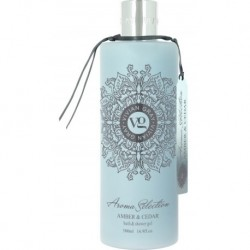 Vivian Gray Aroma Selection Bath & Shower Gel Żel pod prysznic i do kąpieli Amber & Cedar 500ml