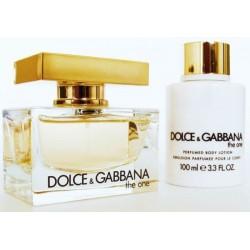 Dolce & Gabbana The One Woda perfumowana 50ml spray + Balsam do ciała 100ml