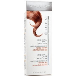 Collistar Magica CC Paprika Red Hair Care Colour Mask for Red Brown and Blonde Hair Maska do włosów 150ml