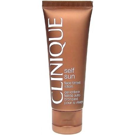 Clinique Self Sun Face Tinted Lotion Kremowo - żelowy samoopalacz do twarzy 50ml