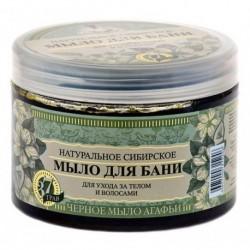 Bania Agafii Naturalne syberyjskie czarne mydło do pielęgnacji ciała i włosów 500ml