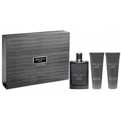 Jimmy Choo Man Intense Woda toaletowa 100ml spray + Żel pod prysznic 100ml + Balsam po goleniu 100ml