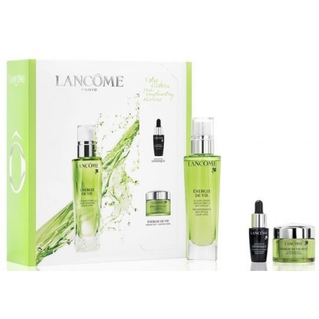 Lancome Energie De Vie Liquid Care Płynny krem 50ml + Advanced Genifique Serum 7ml + Sleeping Mask Maseczka 15ml