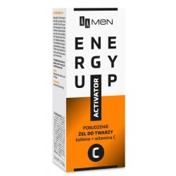 AA Men Energy Up Activator Face Gel Pobudzający żel do twarzy kofeina + witamina C 50ml