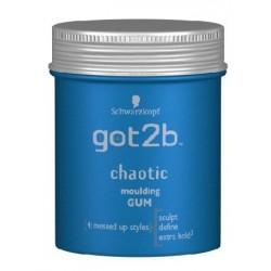 Schwarzkopf Got2b Chaotic Fibre Gum Modelująca guma do włosów 100ml
