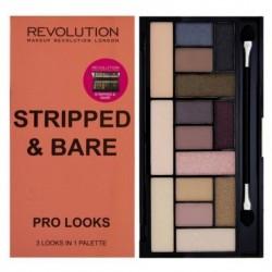 Makeup Revolution Pro Looks Stripped & Bare Paleta 15 cieni 13g