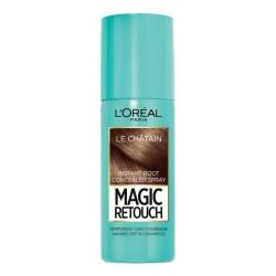 L`Oreal Magic Retouch Błyskawiczny retusz odrostów w sprayu Brąz 75ml