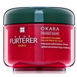 Rene Furterer Okara Radiance Enhancing Conditioner Maska wzmacniająca kolor 200ml
