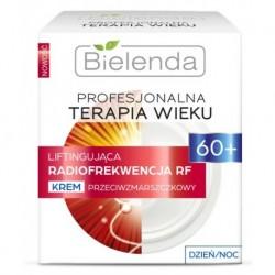 Bielenda Profesjonalna Terapia Wieku 60+ Liftingująca radiofrekwencja RF krem przeciwzmarszczkowy dzień/noc 50ml