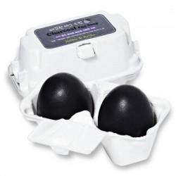 Holika Holika Charcoal Egg Soap Oczyszczające mydełko do twarzy z zawartością węgla