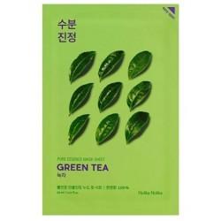 Holika Holika Pure Essence Mask Sheet Green Tea Przeciwzapalna maseczka z ekstarktem z zielonej herbaty 20ml