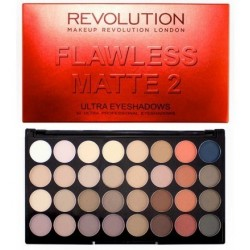 Makeup Revolution Ultra Eyeshadow Flawless Matte 2 Paleta 32 cieni 20g