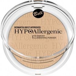 Bell HypoAllergenic Face&Body Illuminating Powder Hypoalergiczny rozświetlacz do twarzy i ciała 02 6gr