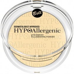 Bell HypoAllergenic Face&Body Illuminating Powder Hypoalergiczny rozświetlacz do twarzy i ciała 03 6gr