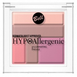 Bell HypoAllergenic Illuminating Rouge Hypoalergiczny róż rozświetlający 02 5g