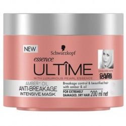 Schwarzkopf Essence Ultime Amber & Oil Anti-Breakage Intensive Mask Maska do włosów silnie regenerująca 200ml