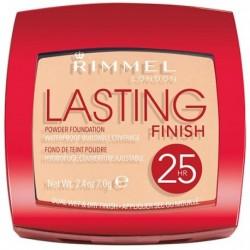Rimmel Lasting Finish 25HR Powder Foundation Puder kryjąco-matujący 004 Light Honey 7g